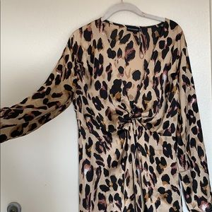 Pretty Little Things - cheetah print dress